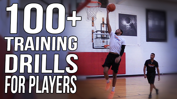 100 Basketball Training Drills For Players - Individual