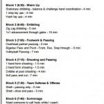 3rd Grade Boys Basketball Practice Plan #4