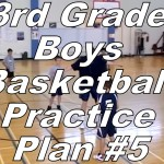 3rd Grade Boys Basketball Practice Plan #5